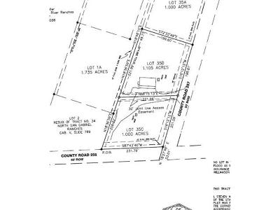 Residential Lots & Land For Sale: 1129 County Road 257 (Lot 35c)