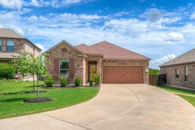 Leander Single Family Home For Sale: 1104 Amazon Lilly Cv