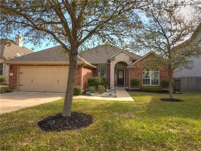 Cedar Park TX Single Family Home Pending - Taking Backups: $310,000