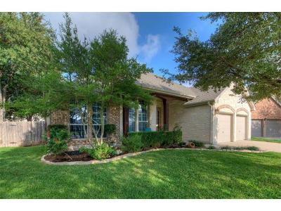 Round Rock Single Family Home For Sale: 2925 Plantation Dr