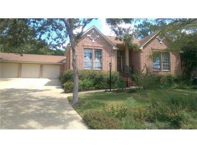 Austin Single Family Home For Sale: 7400 Rain Creek Pkwy