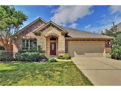 Leander Single Family Home For Sale: 2809 Prosperity