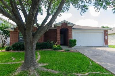 Round Rock TX Single Family Home For Sale: $259,500