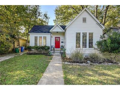Austin Single Family Home For Sale: 3308 Robinson Ave