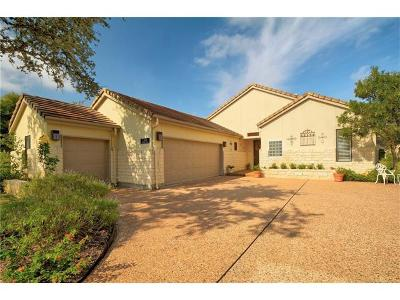 Spicewood Single Family Home For Sale: 2306 Founders Cir