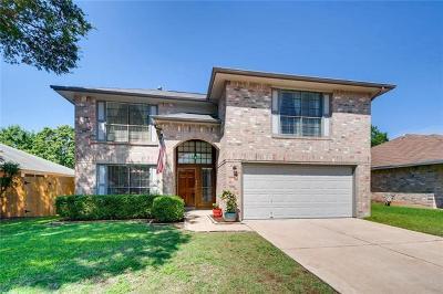 Leander Single Family Home For Sale: 601 Battlecreek Ln