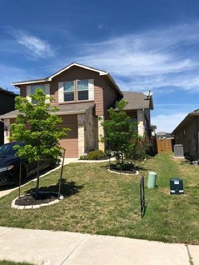 Manor Single Family Home For Sale: 12112 Timber Arch Ln