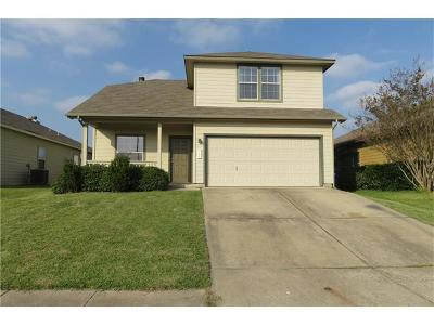 Manor Single Family Home For Sale: 11606 Hereford St