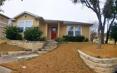 Round Rock Rental For Rent: 1501 Corn Hill Ln