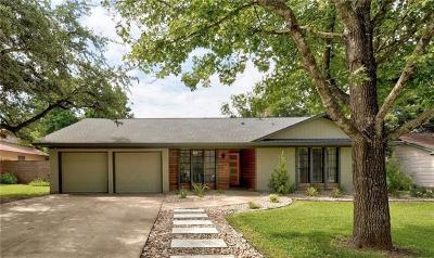Austin Single Family Home Pending - Taking Backups: 9505 Longvale Dr