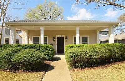 Single Family Home For Sale: 4612 Ramsey
