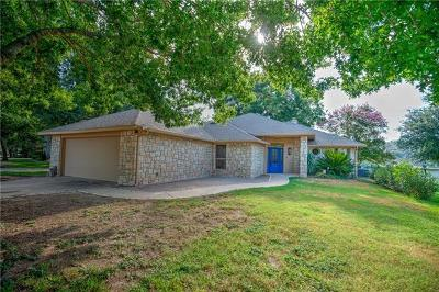 Burnet County Single Family Home For Sale: 1303 Lakeshore Dr