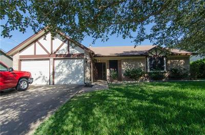 Round Rock Single Family Home For Sale: 1803 Oakridge Dr