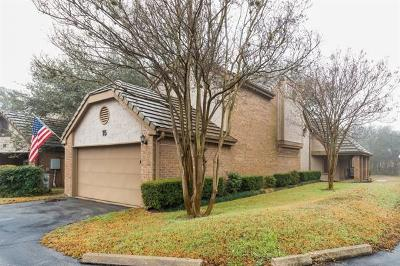 Condo/Townhouse For Sale: 11310 Spicewood Club Dr #15