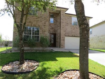 Pflugerville Single Family Home For Sale: 4100 Veiled Falls Dr