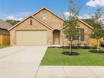 Round Rock Single Family Home For Sale: 3604 Kingsley Cv