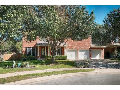 Round Rock Single Family Home For Sale: 2227 Buena Vista Ln