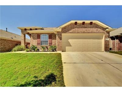 Buda Single Family Home For Sale: 509 Pond View Pass