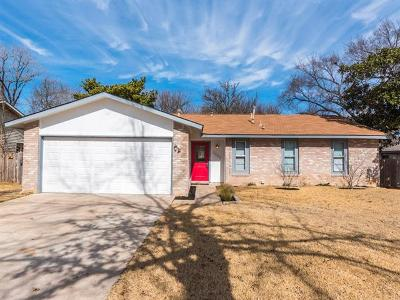 Hays County, Travis County, Williamson County Single Family Home Pending - Taking Backups: 2502 Broken Oak Dr
