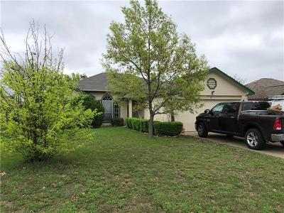 Leander Single Family Home Pending: 604 Maplecreek Dr