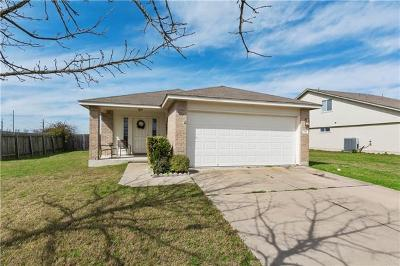 Hutto TX Single Family Home For Sale: $195,000