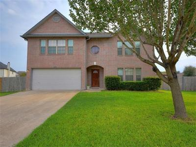 Round Rock Single Family Home For Sale: 4505 Cisco Valley Dr