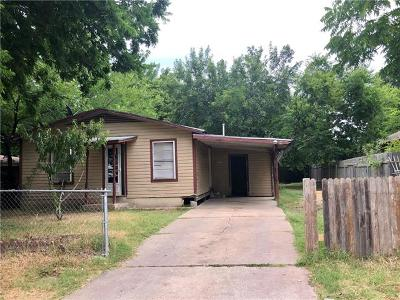 Single Family Home For Sale: 1015 Valdez St