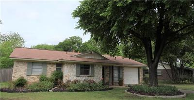 Austin Single Family Home For Sale: 8500 Stillwood Ln