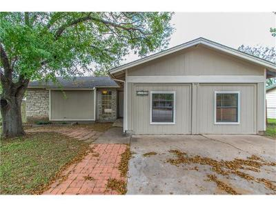 Austin Single Family Home For Sale: 6602 Bourg Cv