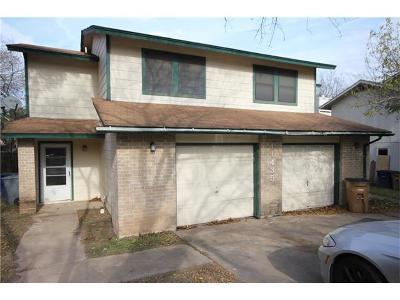 Austin Multi Family Home Pending - Taking Backups: 11435 Ptarmigan Dr