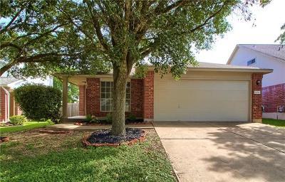 Pflugerville Single Family Home For Sale: 1004 Doras Dr