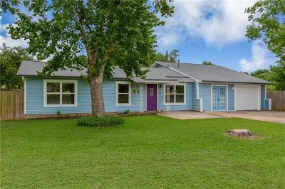 Round Rock Single Family Home Pending - Taking Backups: 815 Bellview Ave