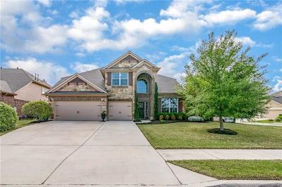Pflugerville Single Family Home Pending - Taking Backups: 3028 Evening Breeze Way