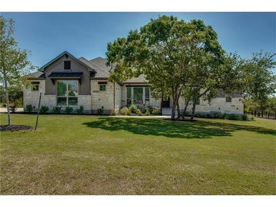 Liberty Hill Single Family Home Active Contingent: 216 Ocate Mesa Trl
