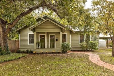 Travis County Single Family Home For Sale: 306 W 44th St