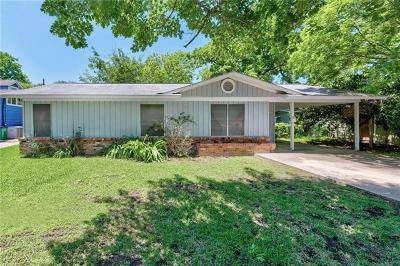 Austin Single Family Home For Sale: 3102 Dolphin Dr
