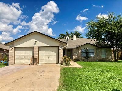 Round Rock Multi Family Home For Sale: 1403 Hermitage Dr