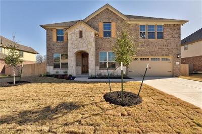Round Rock Single Family Home For Sale: 2292 Hat Bender Loop