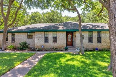 Georgetown Single Family Home For Sale: 4300 W Cordoba Cir