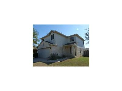 Leander Single Family Home Active Contingent: 1500 Catalina Dr
