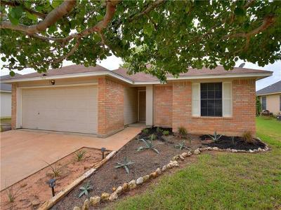 Leander Single Family Home For Sale: 805 Sparkling Brook Ln