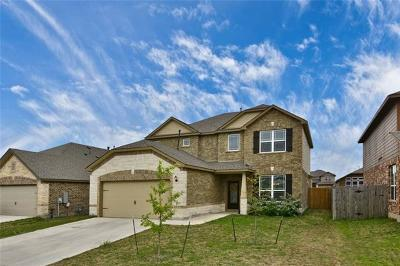 Round Rock Single Family Home For Sale: 8026 Arezzo Dr