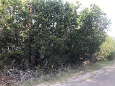 Lago Vista TX Residential Lots & Land For Sale: $12,500