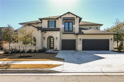 Leander Single Family Home For Sale: 3928 Venezia Vw