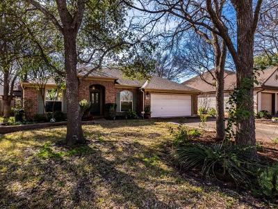 Round Rock Single Family Home For Sale: 2048 Cedar Grove Cv