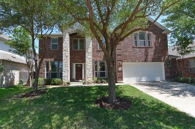 Round Rock TX Single Family Home For Sale: $360,000