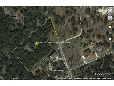 Georgetown Residential Lots & Land For Sale: 106 Graystone Ln