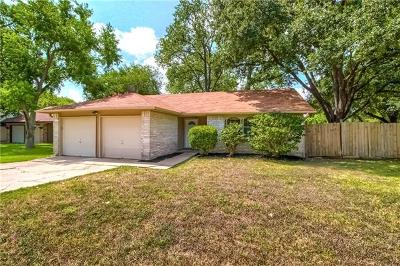 Austin Single Family Home For Sale: 1207 Cullers Cv