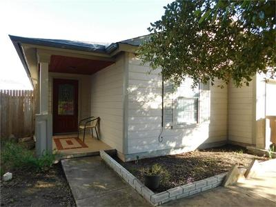 Del Valle Single Family Home Pending - Taking Backups: 13309 Thome Valley Dr