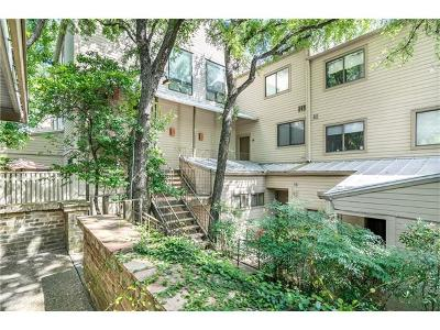 Travis County Condo/Townhouse For Sale: 606 W Lynn St #17